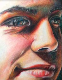 face color pencil