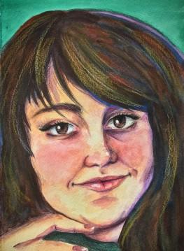 Watercolor Self 2020 - Copy